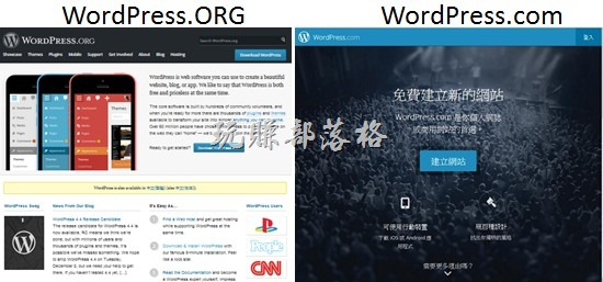 WordPress.org與WordPress.com有何不同?